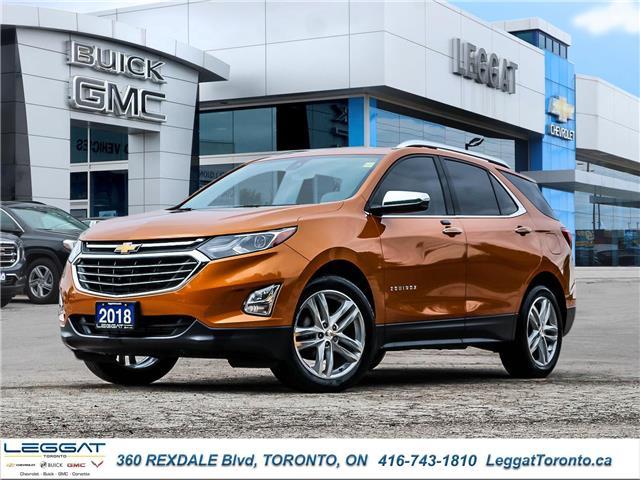 2018 Chevrolet Equinox Premier (Stk: T11826) in Etobicoke - Image 1 of 30