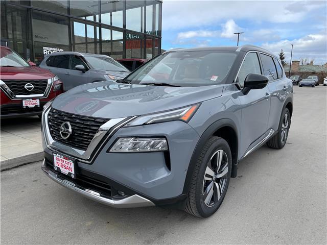 2021 Nissan Rogue Platinum (Stk: T21210) in Kamloops - Image 1 of 29