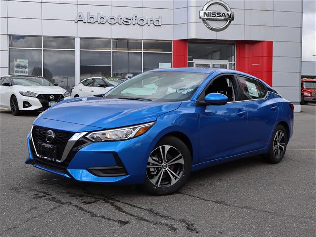 2021 Nissan Sentra SV (Stk: A21180) in Abbotsford - Image 1 of 28