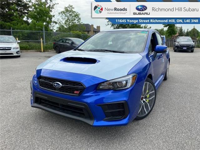 2021 Subaru WRX STI Sport-tech MT w/Wing Spoiler (Stk: 35858) in RICHMOND HILL - Image 1 of 23