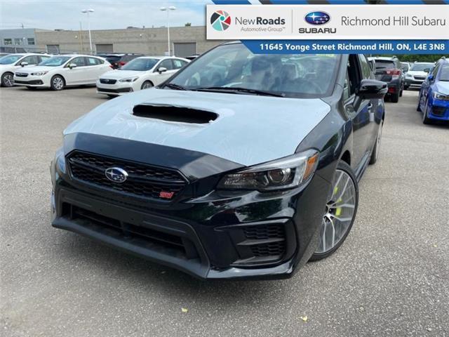 2021 Subaru WRX STI Sport-tech MT w/Wing Spoiler (Stk: 35876) in RICHMOND HILL - Image 1 of 9