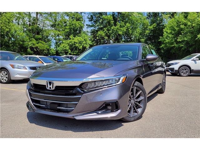 2021 Honda Accord EX-L 1.5T (Stk: 11293) in Brockville - Image 1 of 28