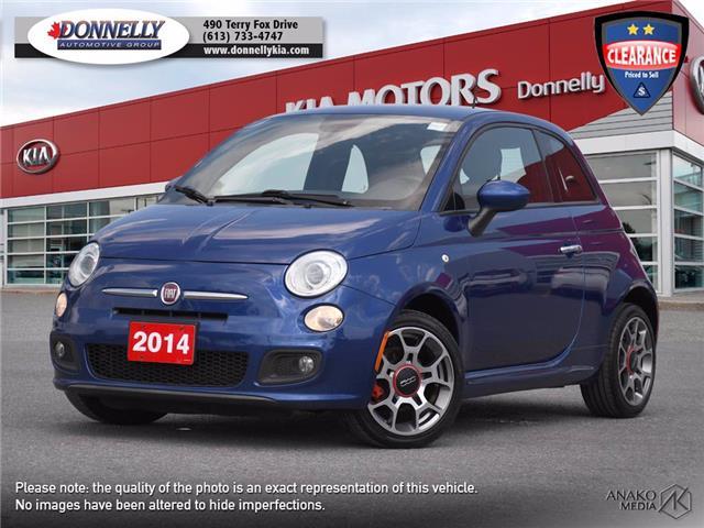 2014 Fiat 500 Sport (Stk: KV402DTA) in Ottawa - Image 1 of 21