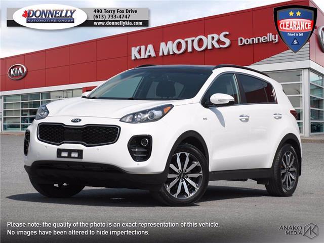2018 Kia Sportage EX (Stk: KV393A) in Ottawa - Image 1 of 27