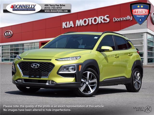 2019 Hyundai Kona 1.6T Ultimate (Stk: KV420DTA) in Ottawa - Image 1 of 30
