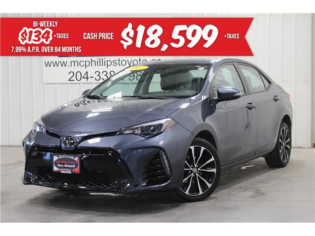 2017 Toyota Corolla SE (Stk: P201741A) in Winnipeg - Image 1 of 27