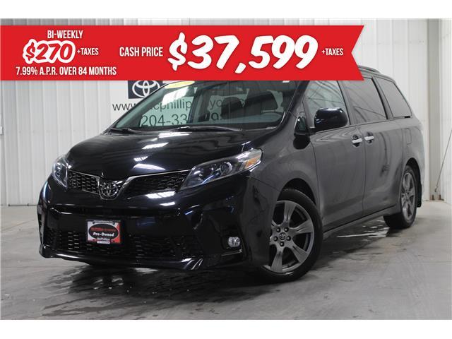 2019 Toyota Sienna SE 8-Passenger (Stk: X062381A) in Winnipeg - Image 1 of 27