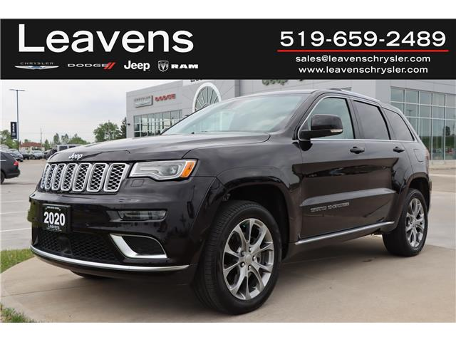 2020 Jeep Grand Cherokee Summit (Stk: LC2166) in London - Image 1 of 25