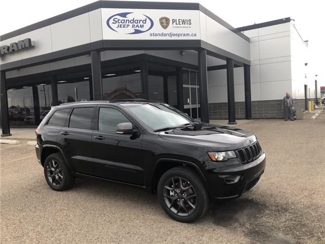 2021 Jeep Grand Cherokee Limited (Stk: 5M143) in Medicine Hat - Image 1 of 18