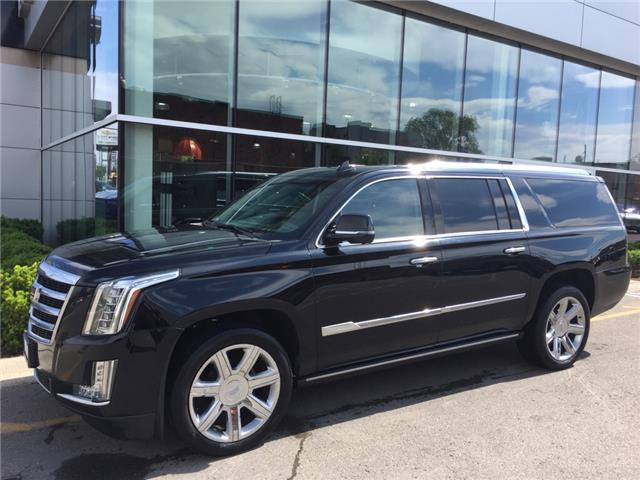 Used 2016 Cadillac Escalade ESV Premium Collection PREMIUM COLLECTION|4X4|BLU-RAY|LEATHER|NAV|SUNROOF|WIRELESS CHARGING|HEAD-UP DISPLAY|SURROUND VISION - London - Finch Chevrolet