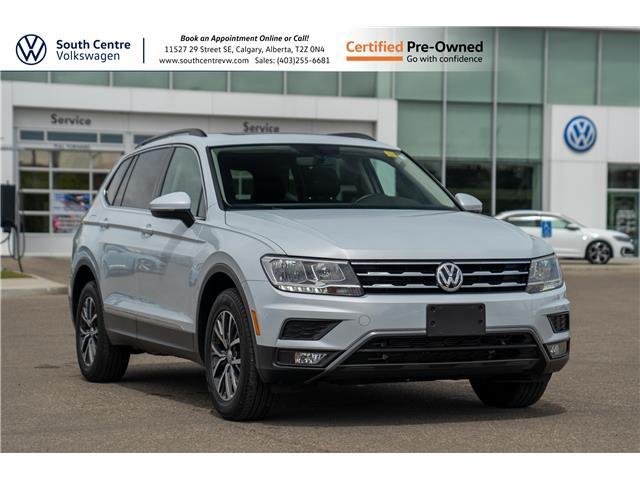 2018 Volkswagen Tiguan Comfortline (Stk: U6734) in Calgary - Image 1 of 40