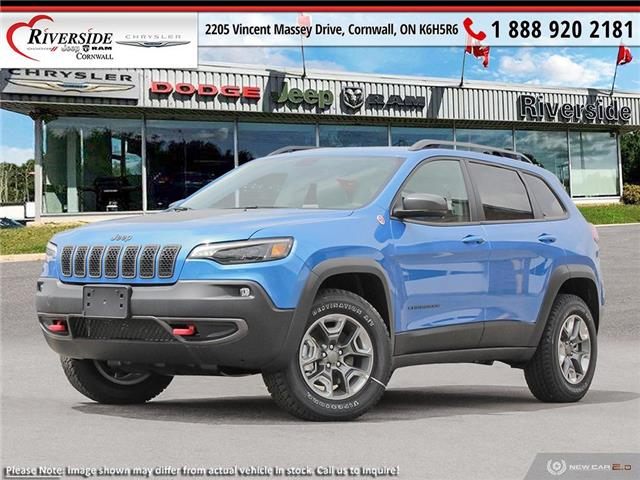 2021 Jeep Cherokee Trailhawk (Stk: ) in Cornwall - Image 1 of 23