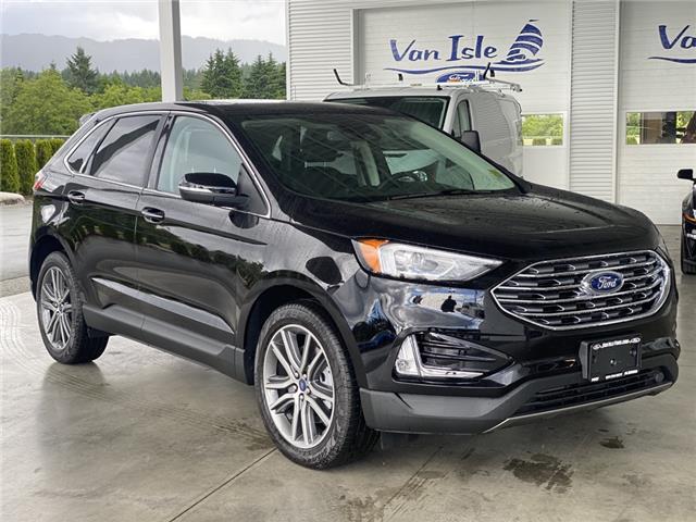 2021 Ford Edge Titanium (Stk: 21096) in Port Alberni - Image 1 of 19
