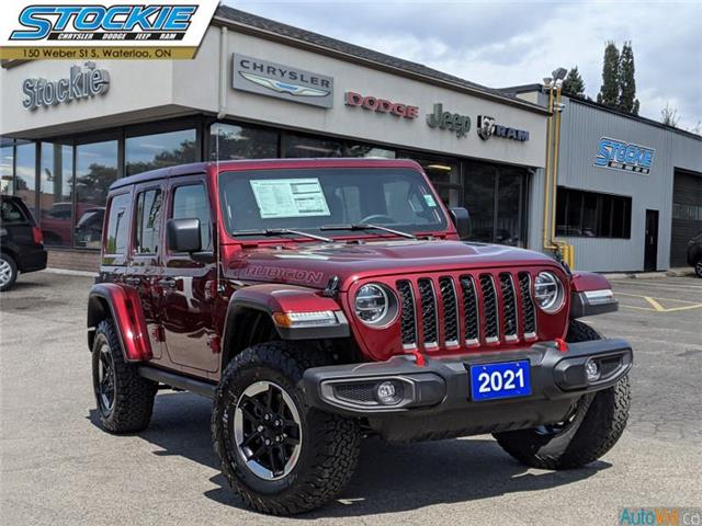 2021 Jeep Wrangler Unlimited Rubicon (Stk: 36523) in Waterloo - Image 1 of 17