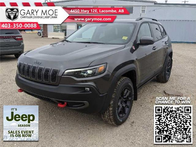 2021 Jeep Cherokee Trailhawk (Stk: F212621) in Lacombe - Image 1 of 18