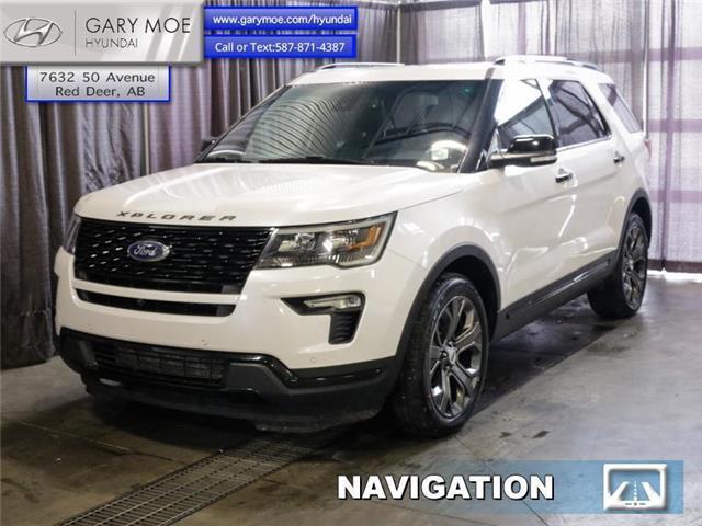 2018 Ford Explorer Sport (Stk: 1PL2026A) in Red Deer - Image 1 of 26