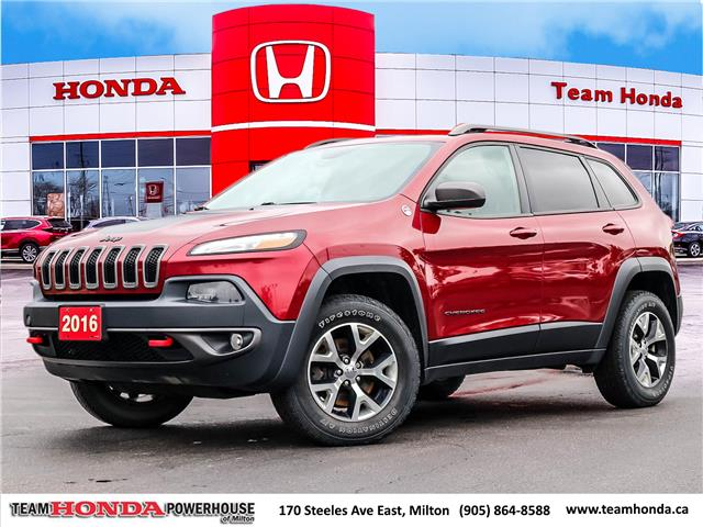 2016 Jeep Cherokee Trailhawk (Stk: 21401A) in Milton - Image 1 of 30