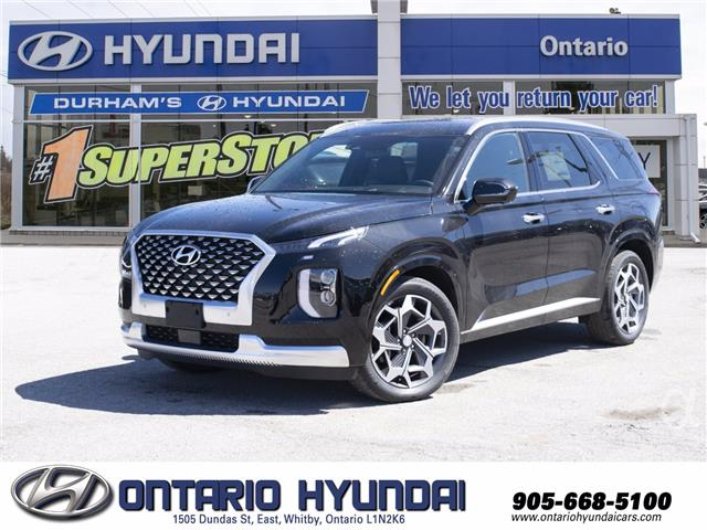 2021 Hyundai Palisade Ultimate Calligraphy (Stk: 307362) in Whitby - Image 1 of 21
