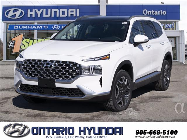 2021 Hyundai Santa Fe HEV Luxury (Stk: 008102) in Whitby - Image 1 of 19