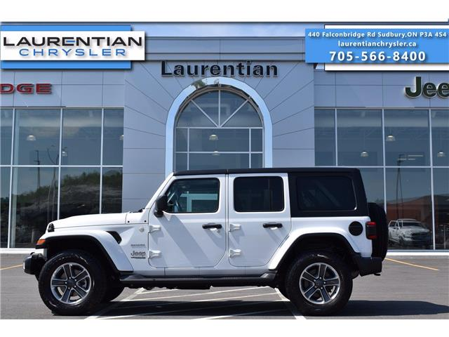 2019 Jeep Wrangler Unlimited Sahara (Stk: BC0154) in Greater Sudbury - Image 1 of 31