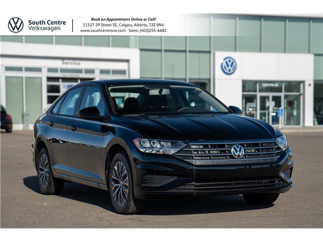 2021 Volkswagen Jetta Comfortline (Stk: 10302) in Calgary - Image 1 of 35