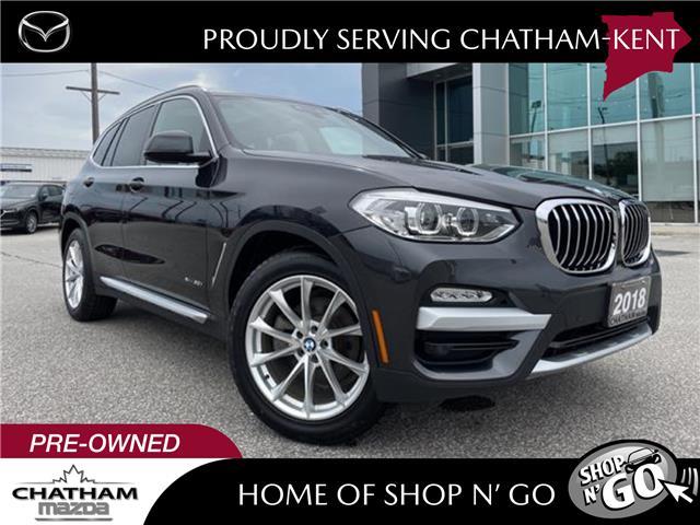 2018 BMW X3 xDrive30i (Stk: UM2627) in Chatham - Image 1 of 28