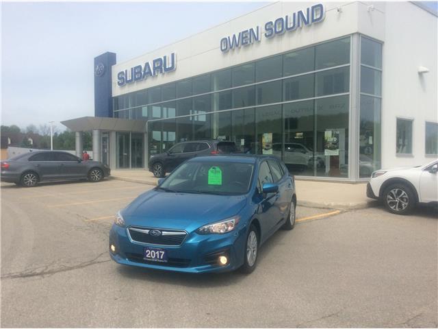 2017 Subaru Impreza Touring (Stk: S14480A) in Owen Sound - Image 1 of 25