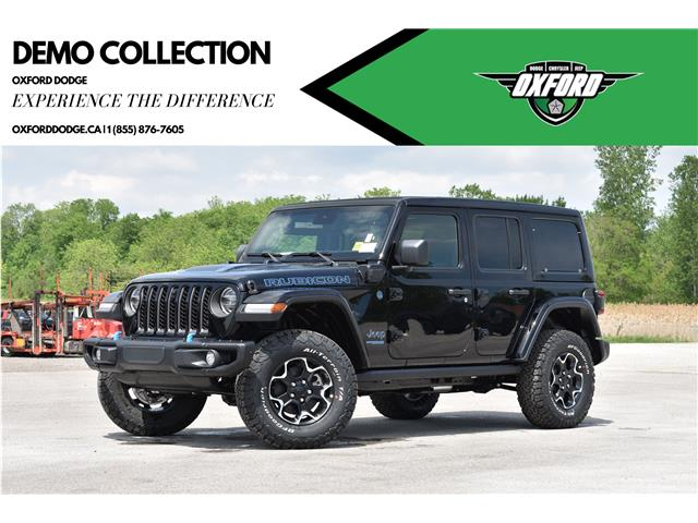 2021 Jeep Wrangler Unlimited 4xe Rubicon (Stk: 21505D) in London - Image 1 of 26