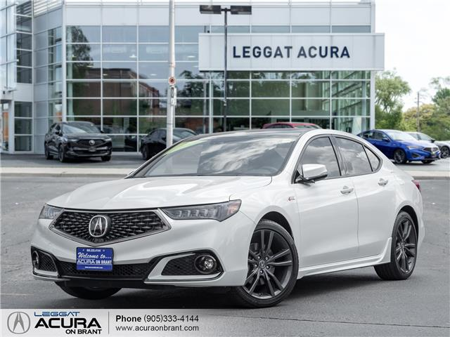 2020 Acura TLX Tech A-Spec w/Red Leather (Stk: 4493) in Burlington - Image 1 of 24