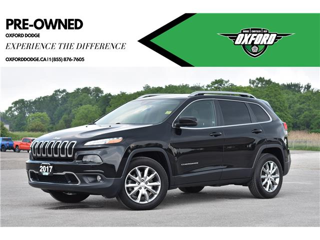 2017 Jeep Cherokee Limited (Stk: U9669A) in London - Image 1 of 22