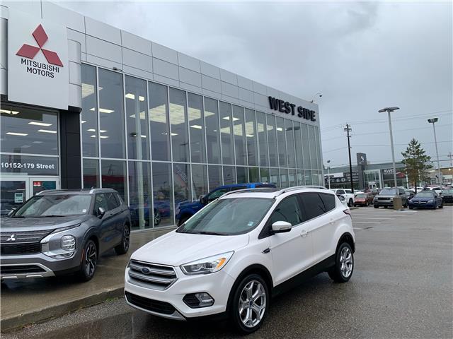 2017 Ford Escape Titanium (Stk: 23027A) in Edmonton - Image 1 of 25