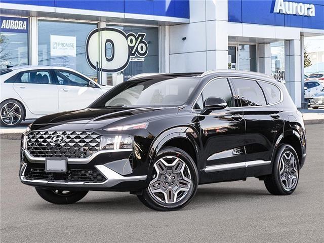 2021 Hyundai Santa Fe Ultimate Calligraphy (Stk: 22727) in Aurora - Image 1 of 10