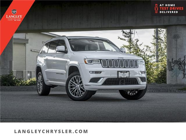 2018 Jeep Grand Cherokee Summit (Stk: LC0821) in Surrey - Image 1 of 29