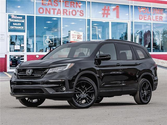 2021 Honda Pilot Black Edition (Stk: 344520) in Ottawa - Image 1 of 23