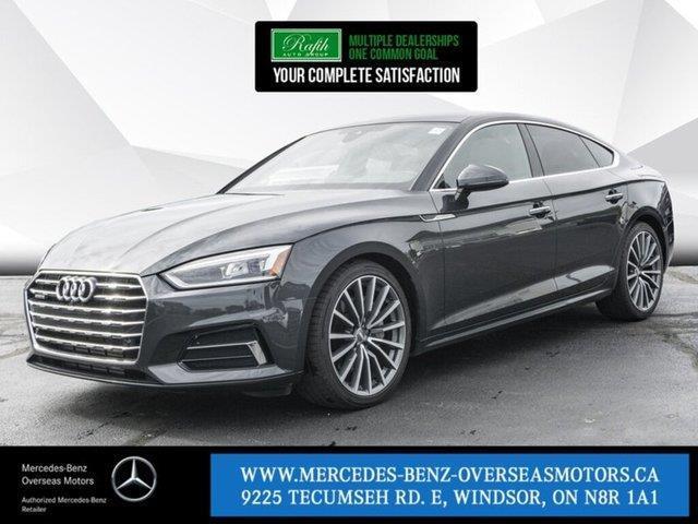 2018 Audi A5 2.0T Technik (Stk: BC8044) in Windsor - Image 1 of 20