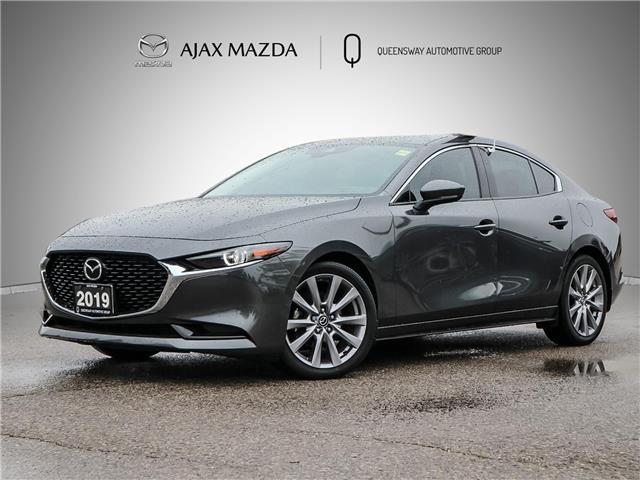 2019 Mazda Mazda3 GT (Stk: 21-1508A) in Ajax - Image 1 of 28