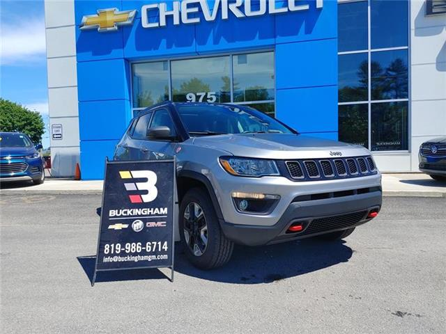 2018 Jeep Compass Trailhawk (Stk: M16607) in Gatineau - Image 1 of 8