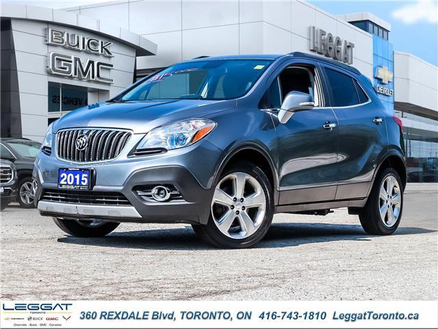 2015 Buick Encore Leather (Stk: 146431A) in Etobicoke - Image 1 of 27