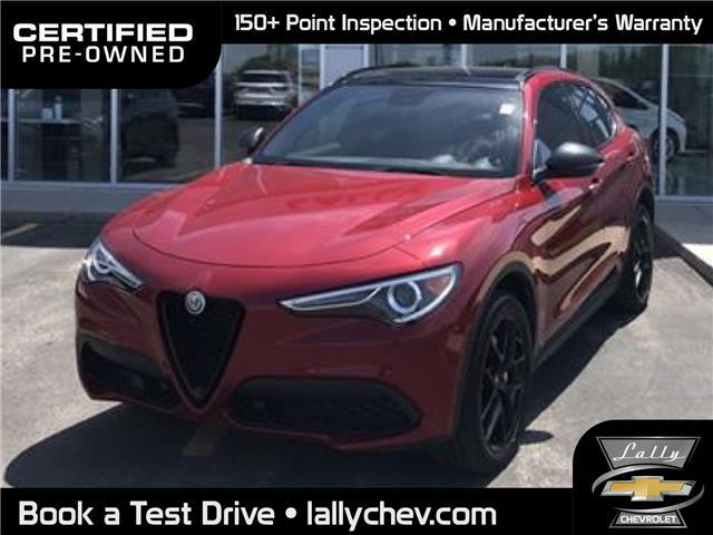 2019 Alfa Romeo Stelvio ti (Stk: R00605) in Tilbury - Image 1 of 19
