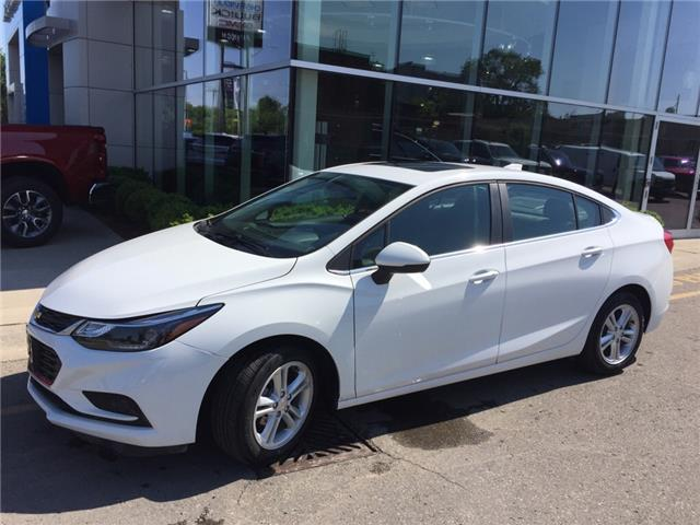 Used 2018 Chevrolet Cruze LT Auto LT|AUTO|SUNROOF|REARVIEW CAMERA|BOSE AUDIO|HEATED SEATS|REMOTE START - London - Finch Chevrolet