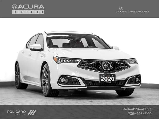 2020 Acura TLX Tech A-Spec w/Red Leather (Stk: 800416T) in Brampton - Image 1 of 30