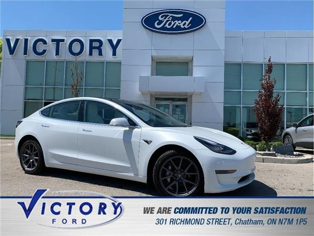 2020 Tesla Model 3 Long Range (Stk: V10486) in Chatham - Image 1 of 29