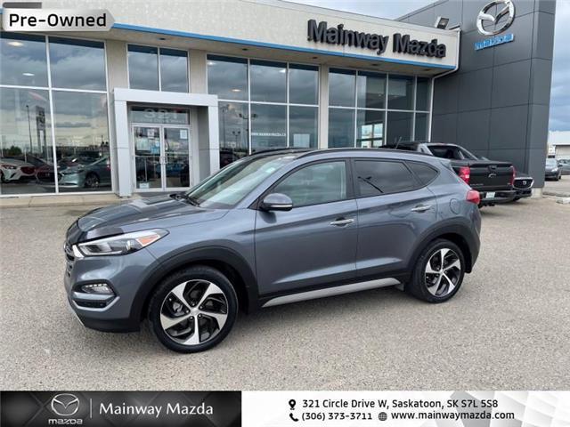 2017 Hyundai Tucson SE (Stk: M21279B) in Saskatoon - Image 1 of 19