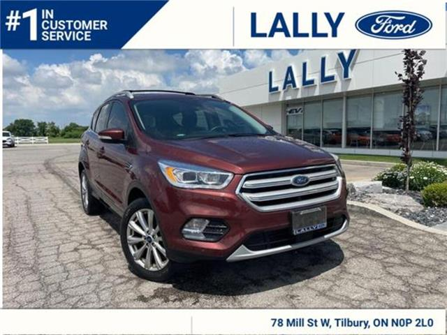 2018 Ford Escape Titanium (Stk: 27710A) in Tilbury - Image 1 of 27