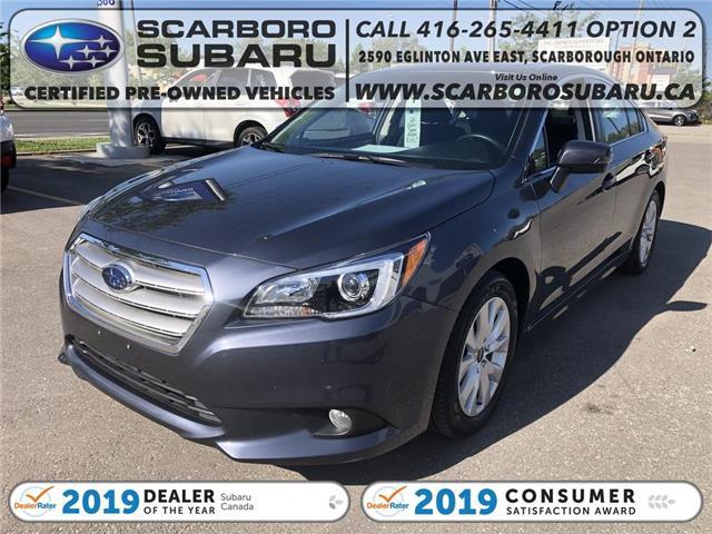 2017 Subaru Legacy 2.5i (Stk: H3046429) in Scarborough - Image 1 of 19