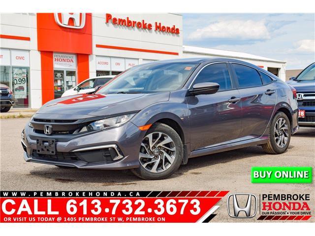 2019 Honda Civic LX (Stk: P7533) in Pembroke - Image 1 of 9