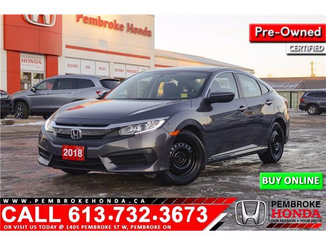 2018 Honda Civic LX (Stk: 21035A) in Pembroke - Image 1 of 28