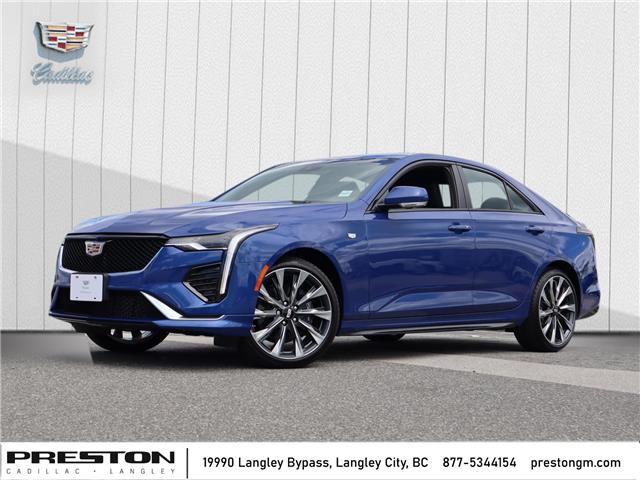 2020 Cadillac CT4 Sport (Stk: 0209360) in Langley City - Image 1 of 28