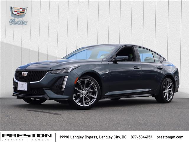 2021 Cadillac CT5 Sport (Stk: 1201110) in Langley City - Image 1 of 28