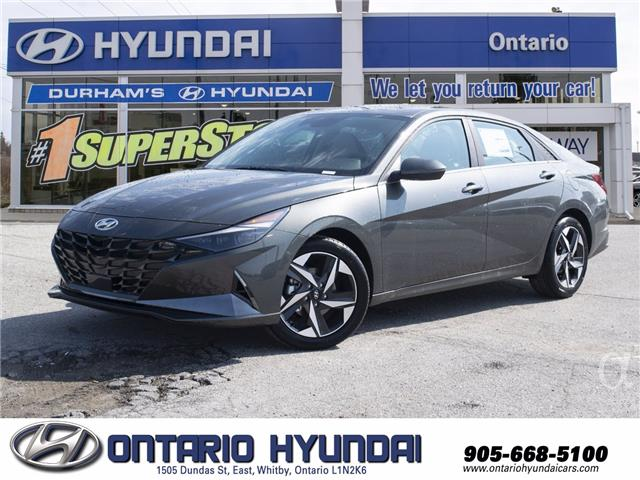2021 Hyundai Elantra Ultimate Tech w/Two-Tone Interior (Stk: 168645) in Whitby - Image 1 of 22